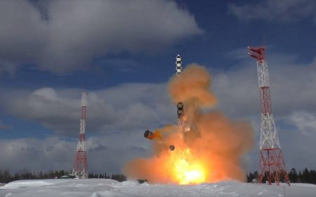 Russia completes pop-up tests of most advanced Sarmat ICBM